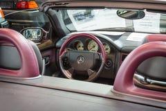Cabin of Mercedes-Benz SLK 230 Kompressor (R170), 1999. Royalty Free Stock Photo