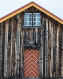 Cabin in Norway Stock Photo