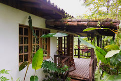 Cabin in Rancho Margot in Costa Rica Stock Image