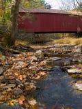 Cabin Run Covered Bridge 4 Stock Photography