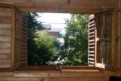 Cabin scene Stock Images
