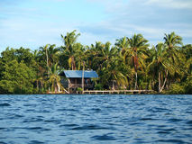 Cabin by the sea Stock Photos