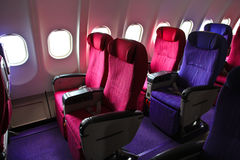 Cabin seats Royalty Free Stock Photo
