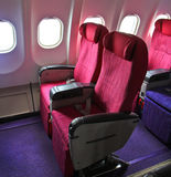 Cabin seats Stock Photography