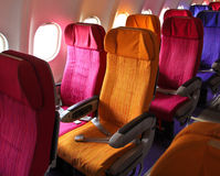 Cabin seats Royalty Free Stock Image