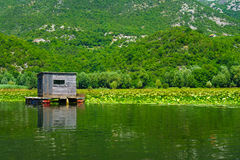 Cabin, Skadar Lake Royalty Free Stock Photography