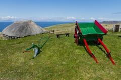 Cabin Skye Museum of Island Life Royalty Free Stock Photo