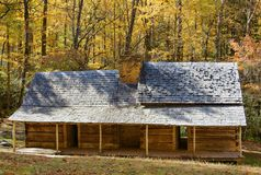 Cabin in the Smokies Royalty Free Stock Image