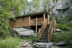 Cabin in South Dakota Royalty Free Stock Image