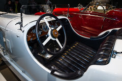 Cabin of a sports car Mercedes-Benz 27/170/225 PS SSK Stock Images