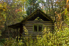 Cabin in taiga 2 Royalty Free Stock Photography