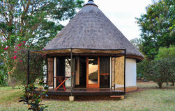 Cabin. Victora lakeside cabin in Africa Stock Image
