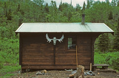 Cabin in the Wilderness Royalty Free Stock Images