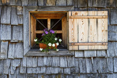 Cabin window Royalty Free Stock Image