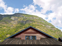 Cabin Wooden Roof Stock Photos