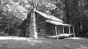 Cabin in the woods... Stock Photos