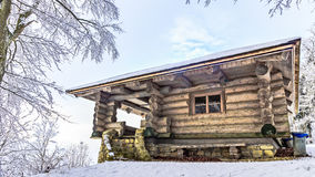 Cabin in the Woods Royalty Free Stock Photo