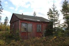 Cabina abandonada Foto de archivo libre de regalías