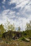 Cabina abbandonata Immagine Stock Libera da Diritti