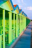 Cabina bleu Image libre de droits