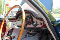 Cabina classica dell'automobile di Britannico Immagine Stock Libera da Diritti