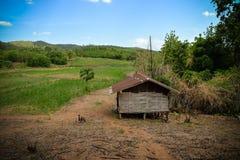 Cabina, cottage, baracca, baracca Fotografia Stock