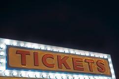 Cabina de boletos Foto de archivo libre de regalías