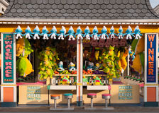 Cabina de Carny de la orilla de Jersey Imagen de archivo libre de regalías