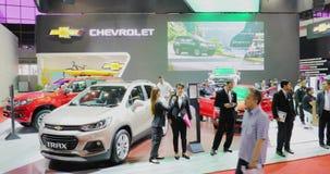 Cabina de Chevrolet que exhibe el diverso coche tres