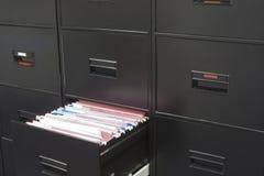 Cabina de fichero Imágenes de archivo libres de regalías