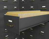 Cabina de ficheros libre illustration
