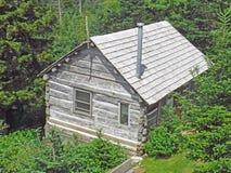 Cabina de la casa de campo de LeConte imágenes de archivo libres de regalías
