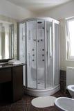 Cabina de la ducha foto de archivo