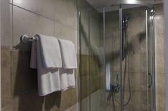 Cabina de la ducha fotografía de archivo libre de regalías