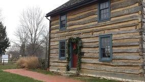 Cabina de la Navidad Fotos de archivo libres de regalías