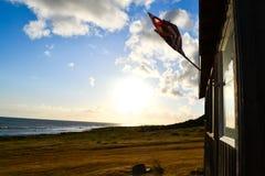 Cabina de la playa Fotos de archivo