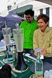 Cabina de la vodka del festival 360 de Ghirardelli Imagenes de archivo