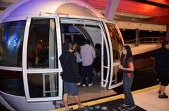 Cabina de Las Vegas Skyroller, Las Vegas, Nevada, los E.E.U.U. Fotografía de archivo libre de regalías