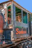 Cabina de los ingenieros de ferrocarril de la compañía de la fuente de los cultivadores de fruta Foto de archivo