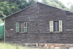 Cabina de madera foto de archivo