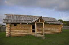 Cabina de madera Fotografía de archivo libre de regalías