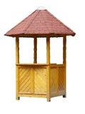Cabina de madera Fotos de archivo