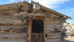Cabina de madera abandonada Imagen de archivo