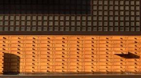Cabina de madera vieja para fortunetelling Imágenes de archivo libres de regalías