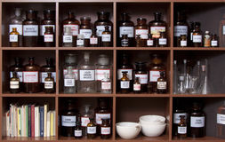 Cabina de medicina Imagen de archivo libre de regalías
