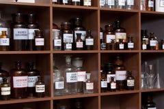 Cabina de medicina Imagenes de archivo