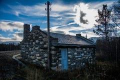 Cabina de piedra Foto de archivo libre de regalías