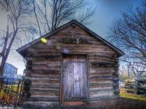 cabina de registro 1861 Foto de archivo libre de regalías