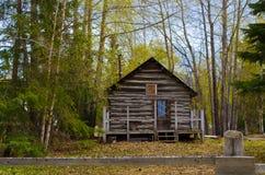 Cabina de registro en la esperanza Alaska Fotografía de archivo libre de regalías