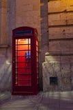 Cabina de teléfono Fotos de archivo libres de regalías